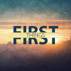 Belangrijke zaken eerst